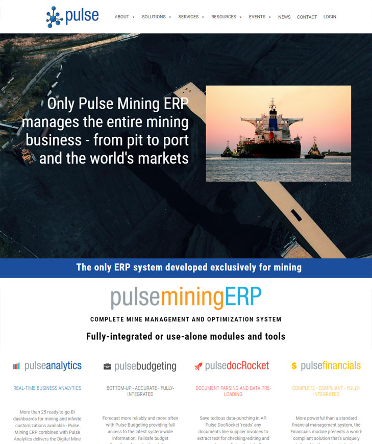 Pulse Mining Systems